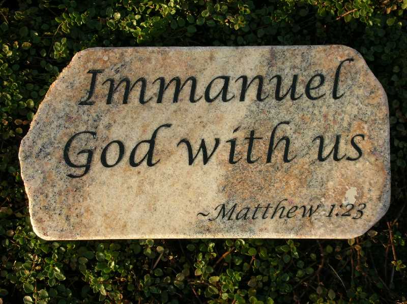 Landscape Rock Quote : Small engraved granite stone bible quote rock
